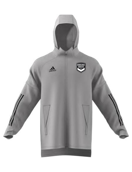 Coupe Vent Adidas Gris Adulte