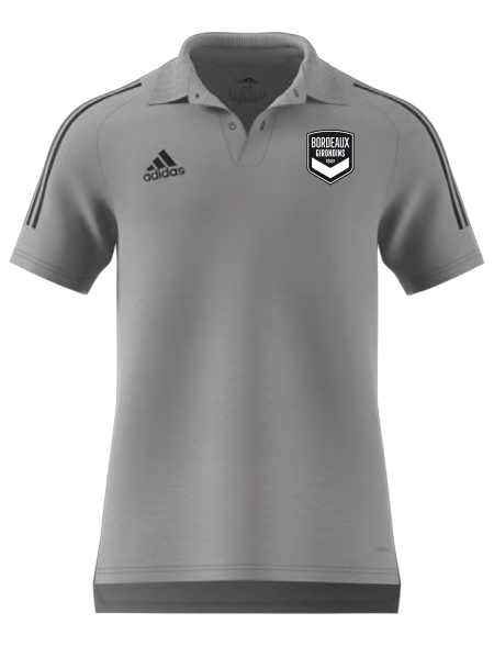 Polo Sortie Adidas Gris Adulte