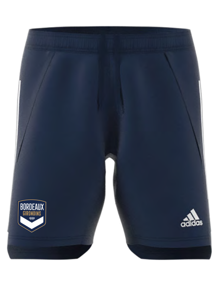 Short training adidas marine Adulte