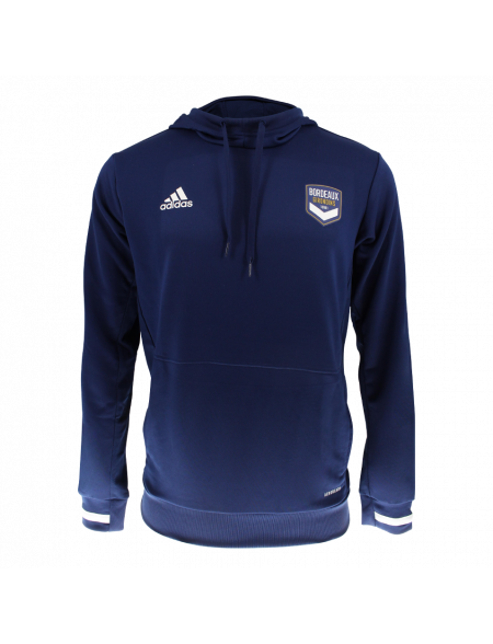 Sweat capuche TEAM adidas marine Adulte