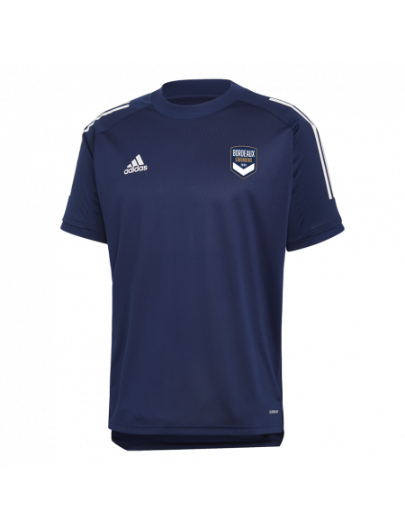 T-shirt training 2 adidas marine Adulte